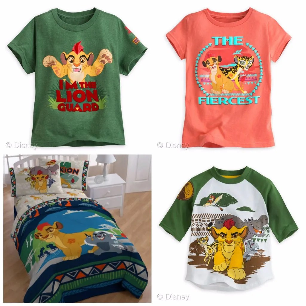 Lion Guard Clothing & Bedding
