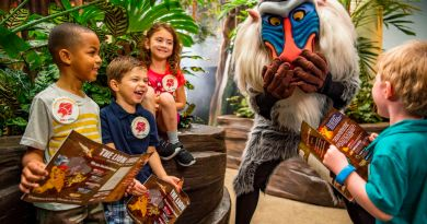 Lion Guard Adventure at Disney's Animal Kingdom