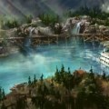 Rivers of America Disneyland concept art