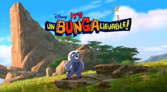 Unbungalievable - lion guard disney junior