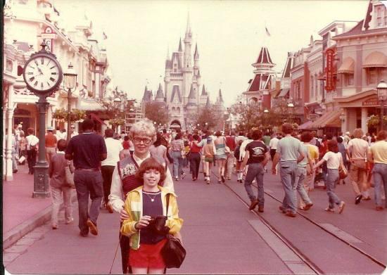 main street usa wdw 1980 - throwback thursday