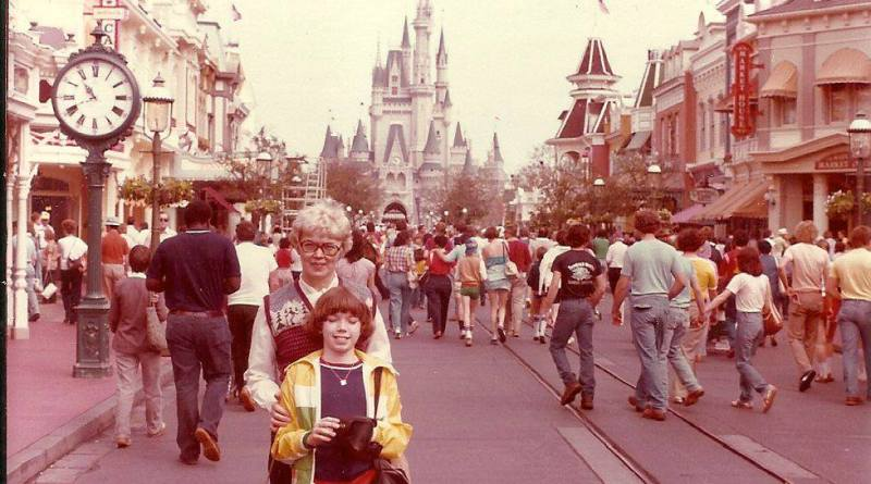 main street usa wdw 1980 - throwback thursday