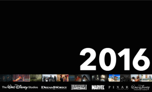 walt disney studios 2016 movies
