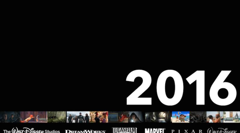walt disney studios 2016 movies