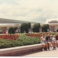 herd of elephants - 1983 topiaries epcot - throwback thursday