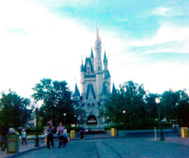 Cinderella Castle - 1970's Throwback Thursday