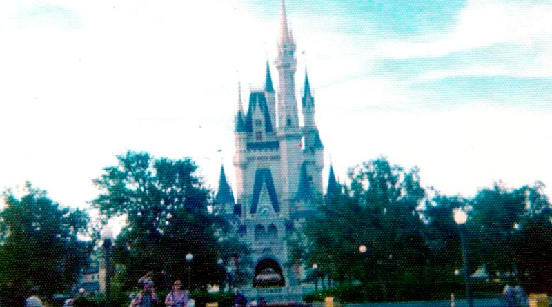 Cinderella Castle - 1970's Throwback Thursday