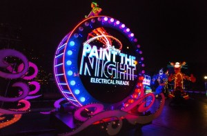 paint the night disneyland