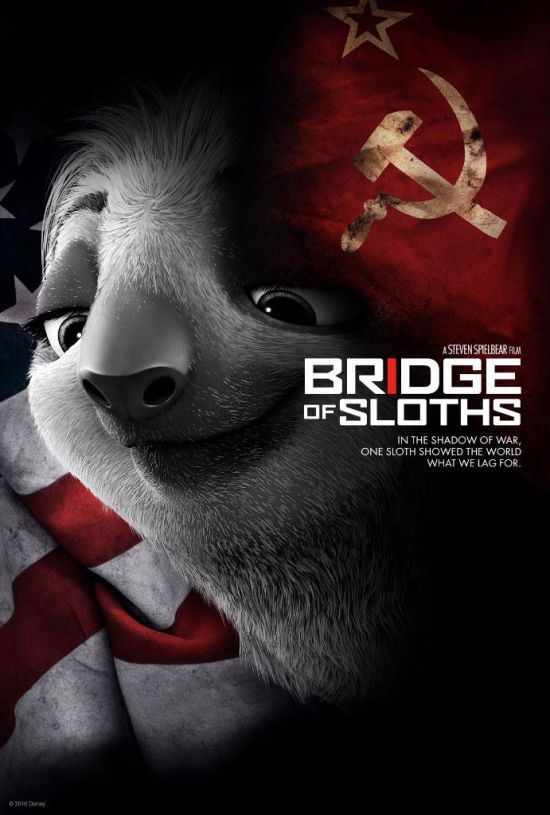 zootopia poster_bridge of spies