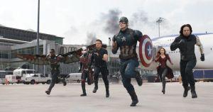 Captain America Civil War Stills - group
