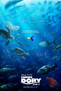 Finding Dory Poster unforgettable