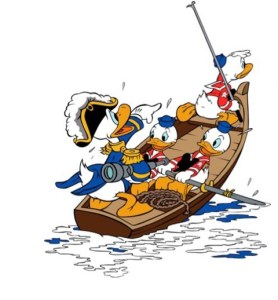 Donald Duck - sea scouts 1939