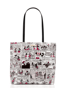 KATE SPADE NEW YORK FOR MINNIE MOUSE COMIC TOTE