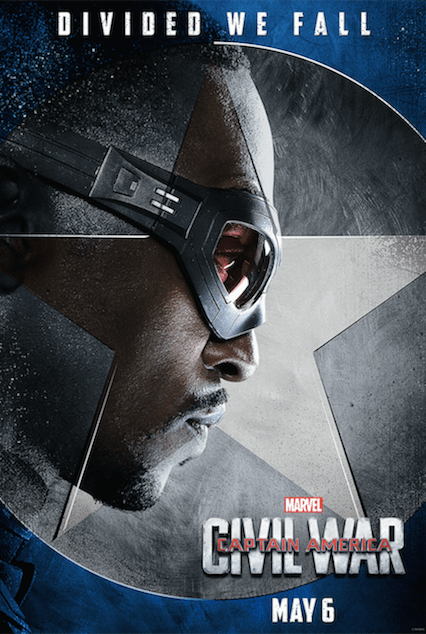 Team Cap - Captian America Civil War Posters