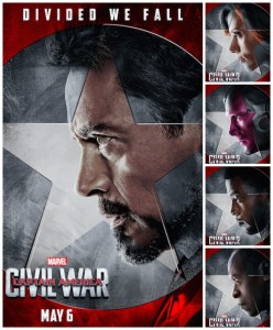 Team Iron Man Collage