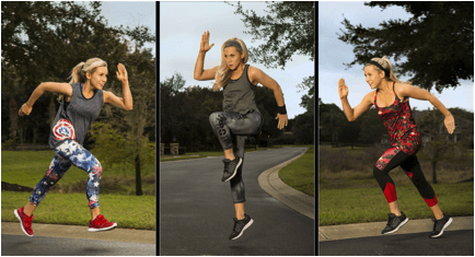 her universe workout clothing line