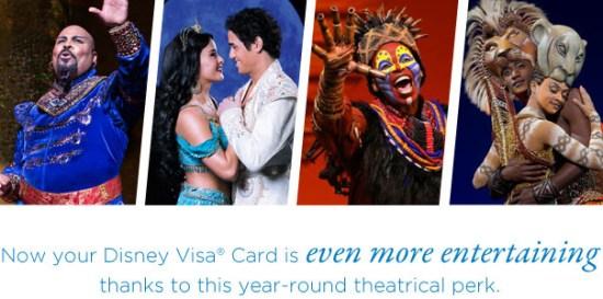 Disney Chase Visa Broadway Perk