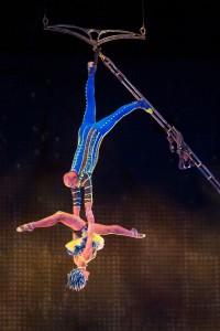 Cirque du Soliel La Nouba, Aerial Bamboo