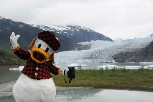 DCL Alaska Disney Cruise Line Donald Duck