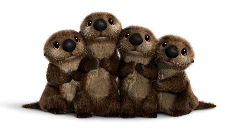 FINDING DORY - Baby Otters