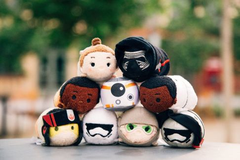 Star Wars The Force Awakens Tsum Tsums Disney Store - Mini Group