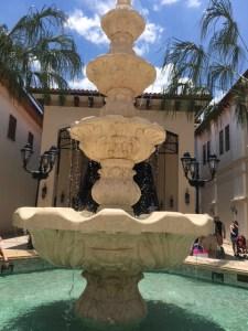 Disney Springs - fountain