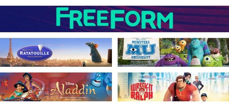 Freeform Funday May 2016