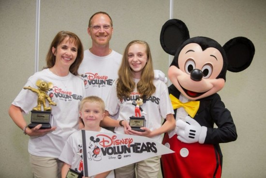 WDW Vountear Family of the year 2016
