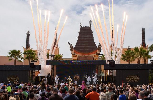 star wars stage show disney hollywood studios