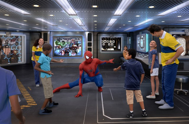Disney Cruise Line - Marvel Labs - Disney Wonder