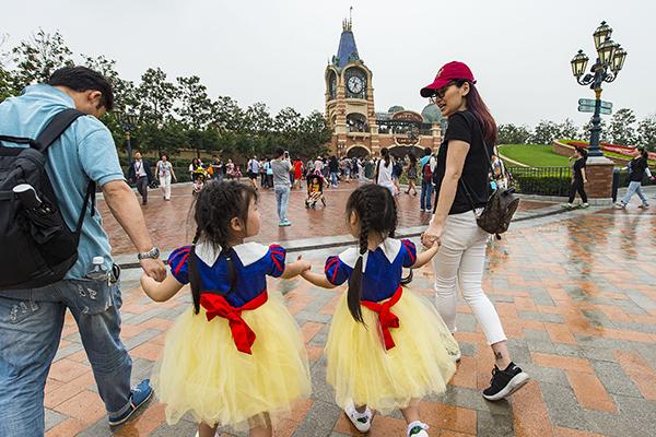 Shanghai Disneyland Grand Opening Guests