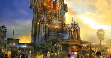 Guardians of the Galaxy Disneyland concept art