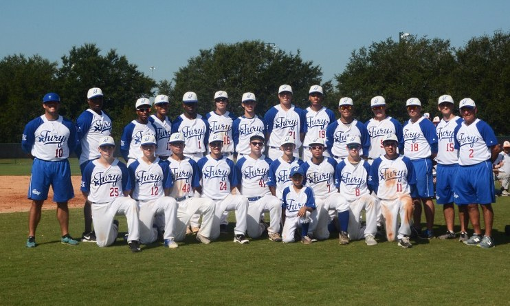 X Fury Baseball Team