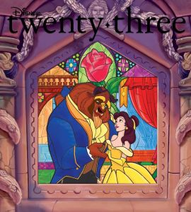 D23 magazine cover fall 2016 Beauty & the Beast