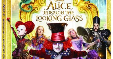 Alice Through The Looking Glass Bluray.