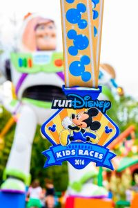 Disneyland Paris Kids' Races Medal