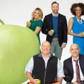 DAPHNE OZ, MARIO BATALI, CLINTON KELLY, MICHAEL SYMON, CARLA HALL - the chew