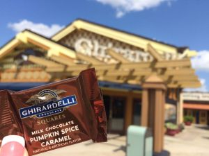 Ghirardelli Pumpkin Spice Disney Springs - Wordless Wednesday