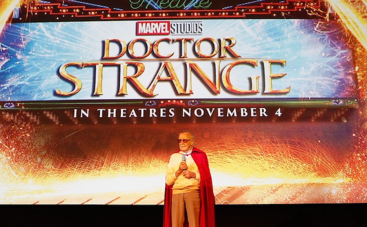 DOCTOR STRANGE - Fan Screening Stan Lee