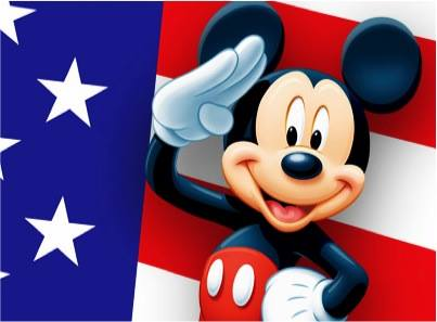 salute mickey military