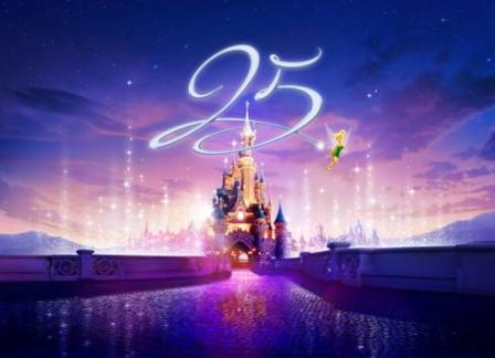 disneyland paris 25