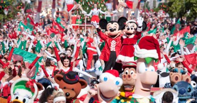 disney parks christmas parade
