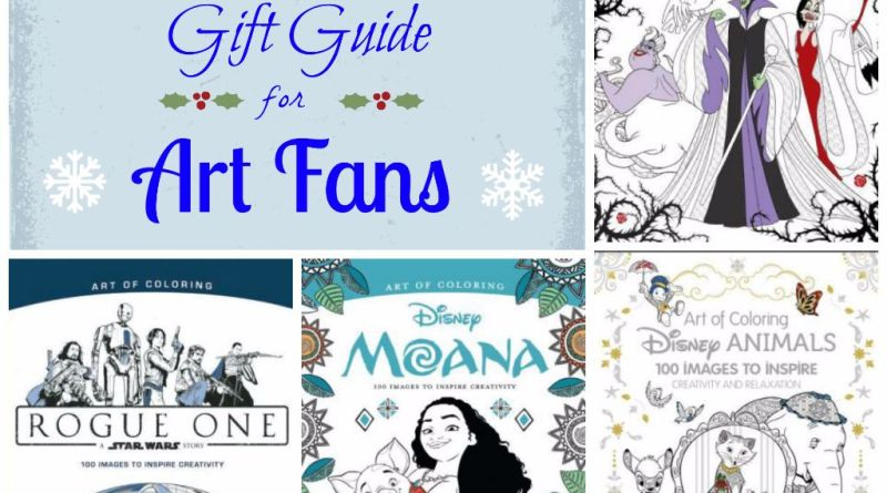 2016 Holiday Gift Guide for Art Fans
