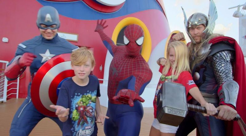 Disney Cruise Line Marvel day at sea
