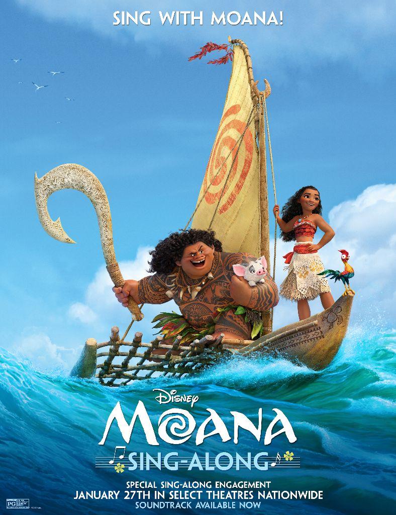 Moana Sing Along Poster