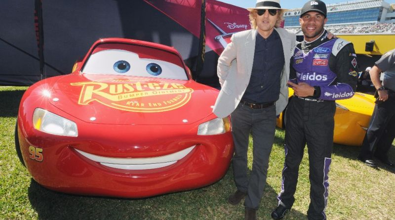 Owen Wilson at 59th Annual DAYTONA 500