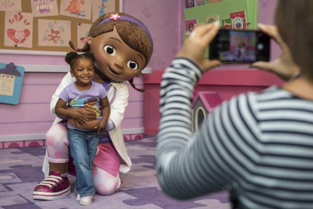 Doc McStuffins at Animal Kingdom