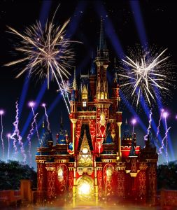 """Happily Ever After"" Fireworks and Projection Spectacular Debuts May 12 at Magic Kingdom Park"