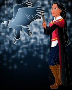 Pocahontas-Gryffindor