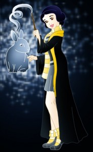 Snow-White-Hufflepuff